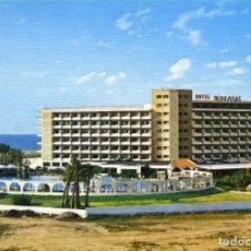 Postales: Nº 26-ROQUETAS DE MAR. ALMERÍA. HOTEL PLAYASOL.POSTAL ARTE EN POSTAL.SIN CIRCULAR. EDICIONES ARRIBAS. Lote 295512733
