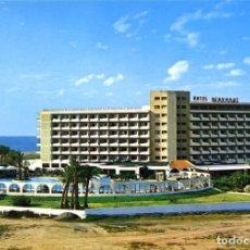Postales: Nº 26-ROQUETAS DE MAR. ALMERÍA. HOTEL PLAYASOL. SIN CIRCULAR. EDICIONES ARRIBAS. Lote 295512953