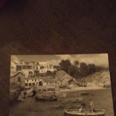 Postales: NERJA 73. PUERTO DE CALAHONDA. EDICIÓN DE 1960. RARA. Lote 295529773