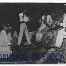 Postales: (PS-66574)POSTAL FOTOGRAFICA DE LA CAROLINA-MINA LA ROSA.4ª PLANTA A 130 METROS. Lote 295707473
