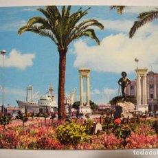 Postales: MÁLAGA. PLAZA QUEIPO DE LLANO. ED GARCÍA GARRABELLA N. 60. NUEVA. Lote 295719163