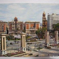 Postales: MÁLAGA. ACERA DE LA MARINA. HOTEL MÁLAGA PALACIO. ED. GARCÍA GARRABELLA N. 94 NUEVA. Lote 295720508