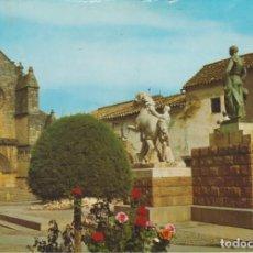 Postales: (825) CORDOBA . MONUMENTO AL TORERO MANOLETE. Lote 295735903