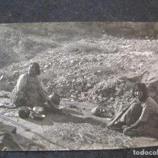 Postales: MALAGA-GITANAS--FOTOGRAFIA ANTIGUA-VER REVERSO-(85.361). Lote 296894158