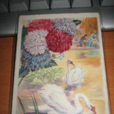 Postales: DOS CISNES. Lote 9695335