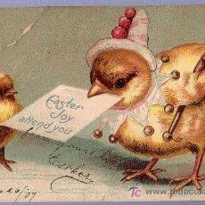Postales: TARJETA POSTAL ANTIGUA DE ANIMALES. REVERSO NO DIVIDIDO. Lote 12170275