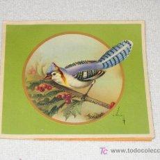Postales: ANTIGUA POSTAL TROQUELADA . Lote 14990819