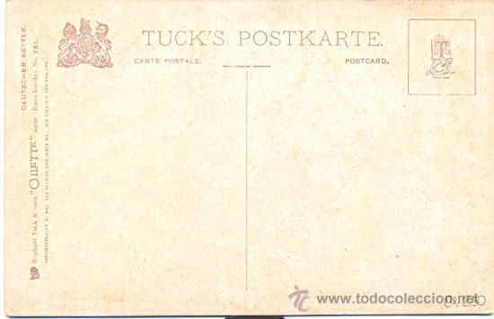 Postales: POST 188 - POSTAL SIN CIRCULAR: OLLETTE - Cº 250 - Nº 285 RAPHAEL TUCK - RASTHUNDER - Foto 3 - 23448752
