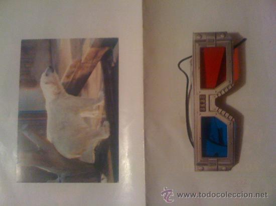 Postal 3D + gafas para verlas. Zoo de Madrid, oso polar. Años 70. segunda mano