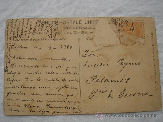 Postales: DETALLE DEL DORSO DE LA POSTAL - Foto 2 - 26421568