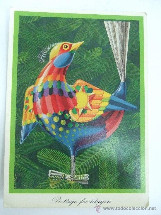 POSTAL CIRCULADA HOLANDA (Postales - Postales Temáticas - Animales)