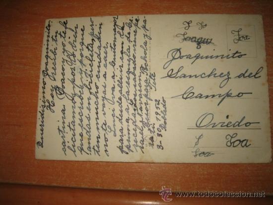 Postales: FELICIDADES ESCRITA Y FECHADA 1952 - Foto 2 - 33429703