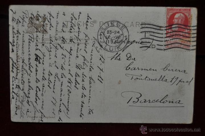 Postales: ANTIGUA POSTAL DE HIPICA. JINETE. ED. RAPHAEL TUCK. POPULAR RACING COLOURS. - Foto 2 - 41123394