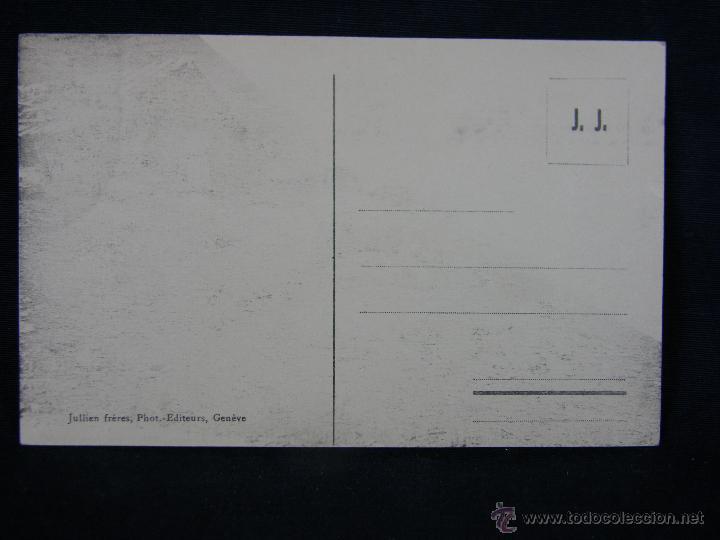 Postales: postal sin circular Jullien Fréres Phot Editeurs Genéve Aprés Dejeumer granja aldea cerdos durmiendo - Foto 2 - 43344745