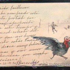 Postales: TARJETA POSTAL DE PAVO REAL.. Lote 44130942