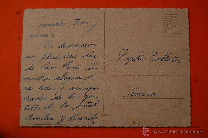 Postales: POSTAL - GATOS - KUGER - CIRCULADA - Foto 2 - 48019369