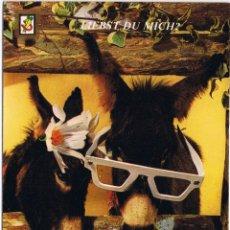 Postales: ESPAÑA - BURROS - ANIMALES COMICOS. Lote 51487669