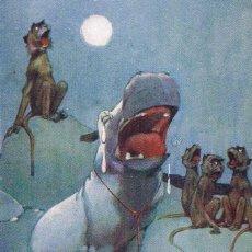 Postales: POSTAL SHOULD THE BABY HIPPO... ED. A. VIVIAN MANSELL, LONDON, 1915. NO CIRCULADA. Lote 54040287
