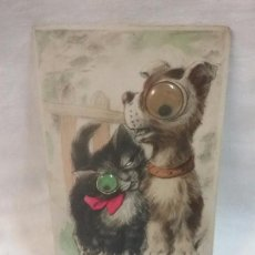 Postales: ANTIGUA POSTAL DE ANIMALES AÑOS 50 . Lote 57415217