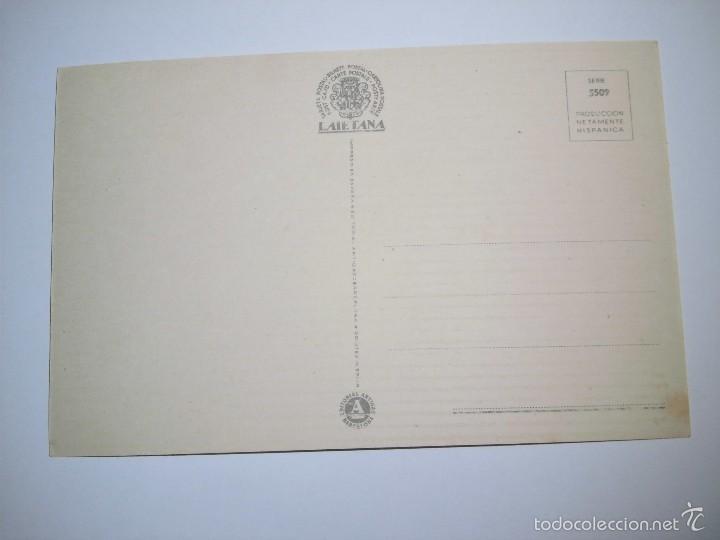 Postales: POSTAL FELICIDADES PERRITOS III.COLECCION LAIETANA.-SERIE 5509.EDICIONES ARTIGAS - Foto 2 - 58067364