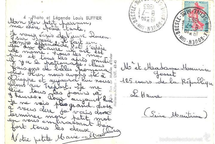 Postales: Postal francesa. Perro. Circulada, 1963 - Foto 2 - 60610391