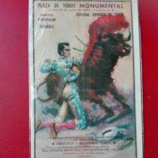 Postales: CARTEL 1959 JUNTOS ORDÓÑEZ Y DOMINGUÍN. Lote 69364662