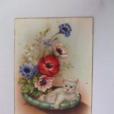 Postales: POSTAL GATO. GATOS. CIRCULADA Y FECHADA EN LOGROÑO 1958. DESTINO ZARAGOZA. TDKP12. Lote 98571011