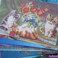 Postales: LOTE 82 POSTALES, GATITOS, GATOS, VER FOTOS ADICIONALES. Lote 107521299