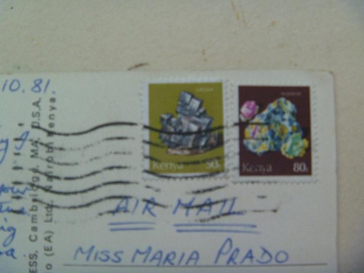 Postales: POSTAL DE UN ELEFANTE AFRICANO . DE KENYA . CIRCULADA A SEVILLA - Foto 2 - 111251463