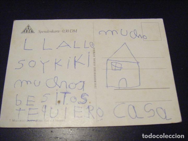 Postales: JML POSTAL SPENDENKARTE O,30 DM 7. MURMELTRER . - Foto 2 - 111864023