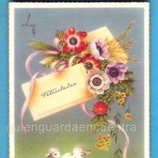 Postales: 2 POSTALES OVEJA CORDERO C/Z 560/A Nº 5 Y 552/A Nº2 CARLES VIVES. Lote 112266655