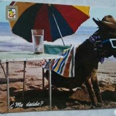 Postales: ANTIGUA POSTAL N° 11 ANIMALES CÓMICOS ESCUDO DE ORO. Lote 115492371