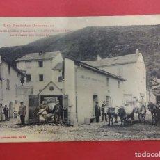 Postales: POSTAL CERDAÑA FRANCESA CON CARRETA DE BUEYES. PIRINEOS ORIENTALES. Lote 115585983