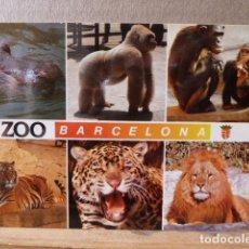 Postales: POSTAL ZOO BARCELONA . Lote 85054236