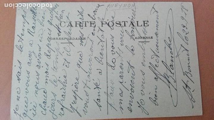 Postales: PRECIOSA POSTAL FERIA GANADERA AVEYRON DEPT 12 CERDOS LE LANGUEYEUR PORK PERFECTA CONSERVAC ANIMADA - Foto 2 - 120308483