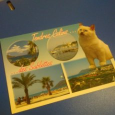 Postales: BONITA POSTAL TENDRES CALIS DES SABLETTES. Lote 121559575