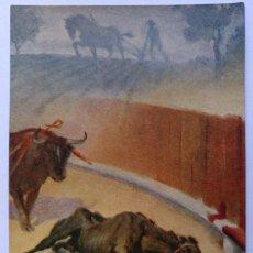 Postales: POSTAL SOCIETAT PROTECTORA D'ANIMALS I PLANTES DE CATALUNYA EL CAVALL AÑOS 30 SIN CIRCULAR. Lote 125278343