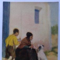 Postales: POSTAL SOCIETATPROTECTORA D'ANIMALS I PLANTES DE CATALUNYA EL GOS. SIN CIRCULAR AÑOS 30. Lote 125278583