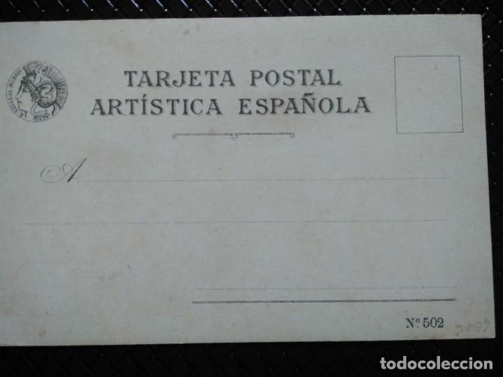 Postales: TARJETA POSTAL ARTÍSTICA ESPAÑOLA. EN EL CAMPO. 2 . SIN DIVIDIR. SIN CIRCULAR. - Foto 2 - 128318871