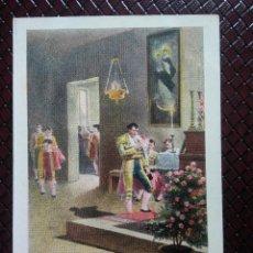 Postales: TARJETA POSTAL ARTÍSTICA ESPAÑOLA. ANTES DE LA CORRIDA. 6. SIN CIRCULAR. SIN DIVIDIR.. Lote 128319999