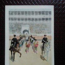 Postales: TARJETA POSTAL ARTÍSTICA ESPAÑOLA. PASEO. 7. SIN CIRCULAR. SIN DIVIDIR.. Lote 128320327