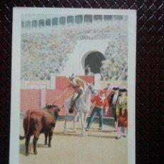 Postales: TARJETA POSTAL ARTÍSTICA ESPAÑOLA. CITE DEL PICADOR. 10. SIN CIRCULAR. SIN DIVIDIR.. Lote 128320687