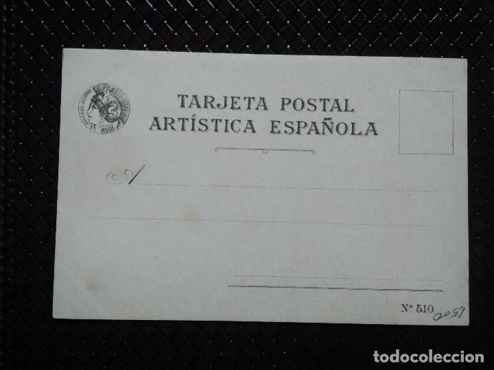 Postales: TARJETA POSTAL ARTÍSTICA ESPAÑOLA. CITE DEL PICADOR. 10. SIN CIRCULAR. SIN DIVIDIR. - Foto 2 - 128320687