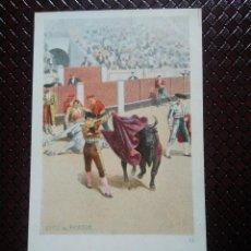 Postales: TARJETA POSTAL ARTÍSTICA ESPAÑOLA. QUITE AL PICADOR. 12. SIN CIRCULAR. SIN DIVIDIR.. Lote 128321051