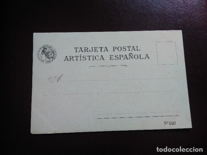 Postales: TARJETA POSTAL ARTÍSTICA ESPAÑOLA. APLAUSOS AL MATADOR. 20. SIN DIVIDIR. SIN CIRCULAR. - Foto 2 - 128322523