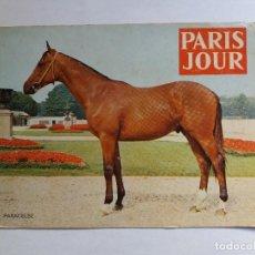 Postales: POSTAL - ANIMALES - CABALLO - PARIS JOUR - PARACELSE. Lote 128344427