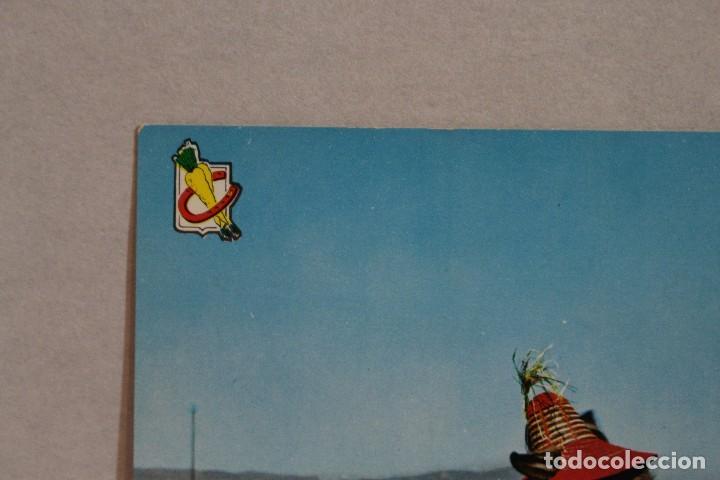 Postales: Postal Animales Cómicos/ Burro en la playa nº 3 Que rica es! A.Subirats Casanovas 1962-Fisa - Foto 4 - 129020103