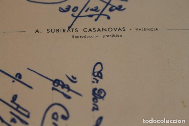 Postales: Postal Animales Cómicos/ Burro en la playa nº 3 Que rica es! A.Subirats Casanovas 1962-Fisa - Foto 7 - 129020103