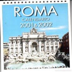 Postales: CALENDARIO DE SOBREMESA. ROMA 2002 & 2003.. Lote 132033598