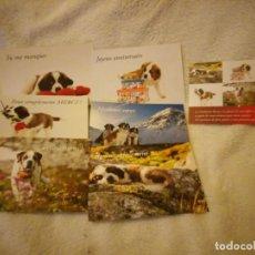 Postales: LOTE DE 6 POSTALES DE PERROS .NUEVAS. Lote 135613206